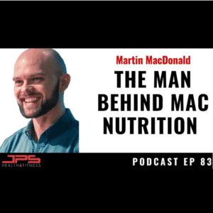 Martin MacDonald Evidence-based nutrition, JPS Health & Fitness