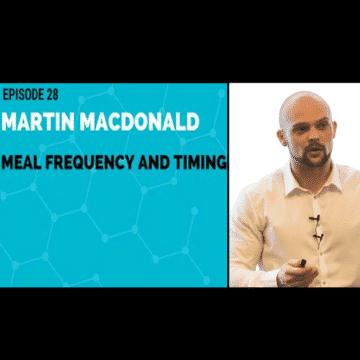 Martin MacDonald Evidence-based nutrition, 30 Plus Men's Fitness Podcast, Iraki Nutrition Podcast