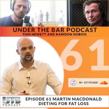 Martin MacDonald Evidence-based nutrition, Under The Bar