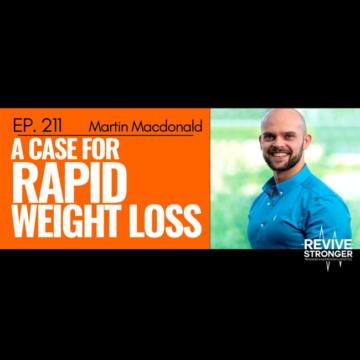 Martin MacDonald Evidence-based nutrition, Revive Stronger